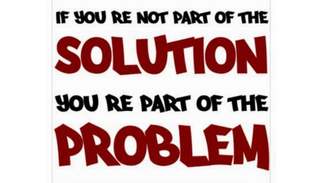 The Problem Could Be You