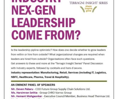 An evening of enriching discussions Leadership in Organizations